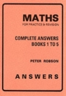 Image for Maths for Practice and Revision : Complete Answers