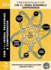 Image for CEM 11+ Verbal Reasoning & Comprehension : Preparation for CEM 11+ Exam