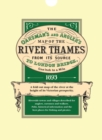 Image for The Oarsman's and Angler's Map of the River Thames 1893 : From Its Source to London Bridge