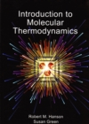 Image for Introduction to molecular thermodynamics