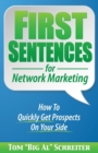 Image for First Sentences For Network Marketing