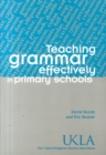 Image for Teaching grammar effectively in primary schools