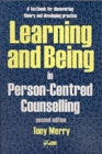 Image for Learning and being in person-centred counselling