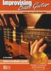 Image for Improvising bass guitar: Intermediate level