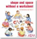 Image for Shape and space without a worksheet for Reception and Year 1
