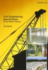 Image for Civil engineering specification for the water industry
