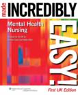Image for Mental Health Nursing Made Incredibly Easy! UK Edition