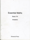 Image for Essential Maths : Bk. 7H : Answers
