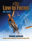 Image for OCR Law in Focus : AS Level