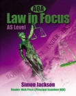 Image for AQA law in focus  : AS level