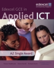 Image for Edexcel GCE in applied ICT: A2 single award