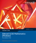 Image for Edexcel GCSE Maths : Modular Foundation Teacher File