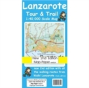 Image for Lanzarote Tour and Trail Map Map-Paper Version