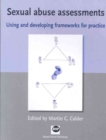 Image for Sexual abuse assessments  : using and developing frameworks for practice