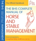 Image for The BHS complete manual of horse and stable management
