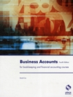 Image for Business accounts  : for book-keeping and financial accounting courses