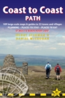 Image for Coast to Coast path  : 109 large-scale maps & guides to 33 towns and villages