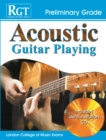 Image for Acoustic guitar playing, preliminary grade