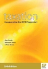Image for Taxation : Incorporating the 2010 Finance Act