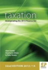 Image for Taxation  : incorporating the Finance Act 2013
