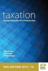 Image for Taxation  : incorporating the Finance Acts 2015