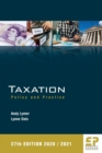 Image for Taxation  : policy and practice : 27