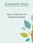 Image for Higher GCSE Maths 4-9 Homework Answers