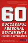 Image for 60 successful personal statements