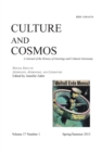 Image for Culture and Cosmos Vol 17 Number 1