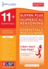 Image for 11+ Essentials Numerical Reasoning : Maths Worded Problems : Book 2