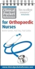 Image for Clinical Pocket Reference for Orthopaedic Nurses