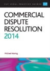 Image for Commercial dispute resolution 2014