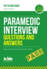 Image for Paramedic interview questions & answers