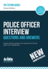 Image for Police Officer Interview Questions and Answers (NEW CORE COMPETENCIES): Sample interview questions for the police officer assessment centre and final interviews