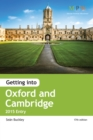 Image for Getting into Oxford & Cambridge  : 2015 entry