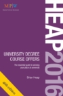 Image for Heap 2016  : university degree course offers