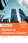 Image for Getting into business & economics courses