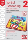 Image for 11+ Verbal Reasoning Year 3/4 GL & Other Styles Workbook 2 : Verbal Reasoning Technique