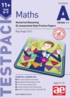 Image for 11+ Maths Year 5-7 Testpack A Papers 1-4 : Numerical Reasoning GL Assessment Style Practice Papers