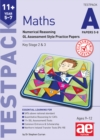 Image for 11+ Maths Year 5-7 Testpack A Papers 5-8 : Numerical Reasoning GL Assessment Style Practice Papers