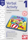 Image for 11+ Verbal Activity Year 3/4 Workbook 1 : Verbal Reasoning Technique