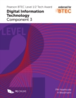 Image for Pearson BTEC Level 1/2 Tech Award in Digital Information Technology: Component 3