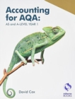 Image for Accounting for AQA : AS and A Level Year 1