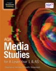 Image for AQA Media Studies for A Level Year 1 & AS : Student Book