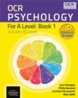 Image for OCR Psychology for A Level: Book 1