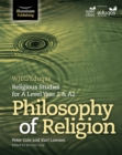 Image for WJEC/Eduqas Religious Studies for A Level Year 2 & A2 - Philosophy of Religion