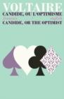 Image for Candide ou l'Optimisme/Candide: Or, the Optimist