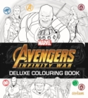 Image for Avengers Infinity War - Deluxe Colouring Book