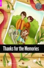 Image for Thanks for the Memories - Foxton Reader Starter Level (300 Headwords A1) with free online AUDIO