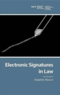 Image for Electronic Signatures in Law